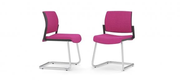 Krzesła konferencyjne Aura