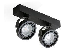 Plafon JERRY 2 230V LED BLACK